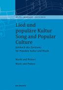 Lied und populäre Kultur / Song and Popular Culture 60/61 (2015/2016)