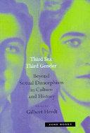 Third sex  third gender