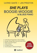 She Plays Boogie Woogie Blues Piano