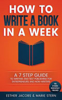 How to Write a Book in a Week