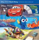 Disney Pixar Read Along Storybook and CD Box Set
