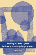 Making the Law Explicit