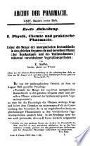 Archiv Der Pharmazie