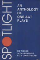 Spotlight: An Anthology Of One Act Plays