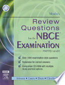 Mosby s Review Questions for the NBCE Examination  Parts I and II   E Book