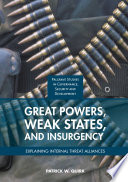 Great Powers  Weak States  and Insurgency