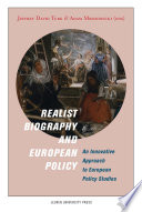 Realist Biography and European Policy Book PDF