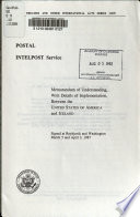 Postal, INTELPOST Service