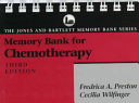 Memory Bank for Chemotherapy