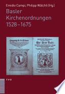 Basler Kirchenordnungen 1528-1675