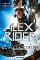 Alex Rider 9 Scorpia Rising book