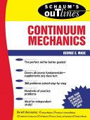 Schaum S Outline Of Continuum Mechanics
