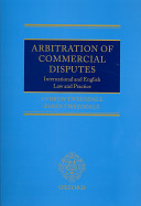 Arbitration of Commercial Disputes