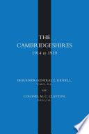 The Cambridgeshires 1914 to 1919