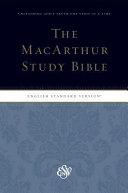 MacArthur Study Bible ESV Personal Size