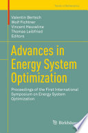 Advances In Energy System Optimization