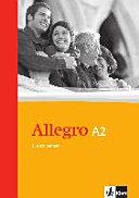 Allegro A2  Grammatische Zusatz  bungen  Mit L  sungen