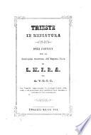 Trieste in miniature  opera compilata     per A  V  M  C  G