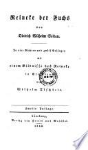 Reineke der Fuchs von Dietrich Wilhelm Soltau