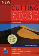 New Cutting Edge  Elementary  Student s Book  Per Le Scuole Superiori  Con CD ROM