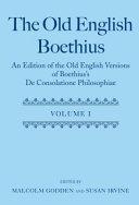 The Old English Boethius