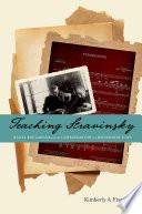 Teaching Stravinsky
