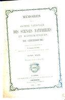 illustration du livre Mémoires de la Société nationale des sciences naturelles et mathématiques de Cherbourg