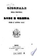 Giornale Della Provincia Di Lodi E Crema