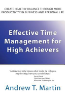 Effective Time Management for High Achievers Pdf/ePub eBook