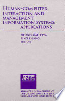 Human Computer Interaction And Management Information Systems