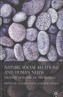Nature, social relations and human needs