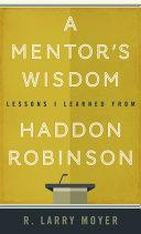 A Mentor's Wisdom