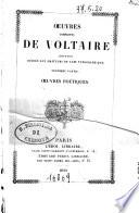 Oeuvres completes de Voltaire edition dediee aux amateurs de l'art typographique