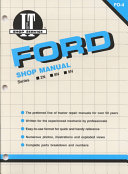 Ford Shop Manual Series 2N 8N   9N