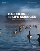 Calculus for the Life Sciences 2Ce