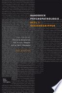 Handboek Psychopathologie: deel 1 basisbegrippen /W. Vandereycken, C.A.L. Hoogduin