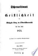 Schematismus der Geistlichkeit der Diözese Linz