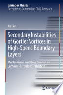 Secondary Instabilities of G  rtler Vortices in High Speed Boundary Layers