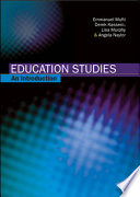 Education Studies  An Introduction