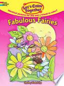Let s Color Together    Fabulous Fairies