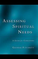 Assessing Spiritual Needs