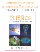 Student Study Guide and Selected Solutions Manual for Physics for Scientists and Engineers with Modern Physics Vols  2 And 3  Chs  21 44