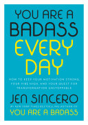 You Are a Badass Every Day Book