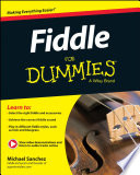 Fiddle For Dummies  Book   Online Video and Audio Instruction