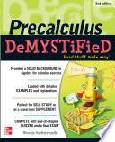 Pre Calculus Demystified Second Edition