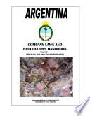 Argentina Company Laws and Regulations Handbook
