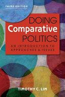 Doing Comparative Politics