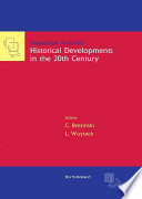 Numerical Analysis  Historical Developments in the 20th Century