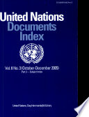 United Nations Documents Index, October-December 2005