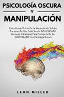 Psicolog A Oscura Y Manipulaci N